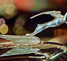 "1932 Chrysler Imperial ""Gazelle"" Hood Ornament by Jill Reger"