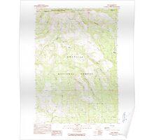 USGS Topo Map Oregon Dale 279549 1990 24000 Poster