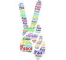 Peace Across the World Photographic Print