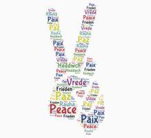 Peace Across the World One Piece - Short Sleeve