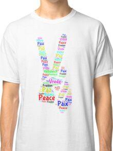 Peace Across the World Classic T-Shirt