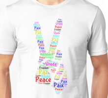 Peace Across the World Unisex T-Shirt