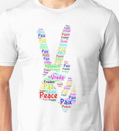 Peace Across the World Unisex T-Shirt
