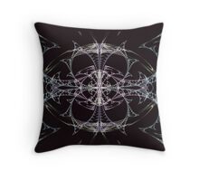 Butterfly Web Throw Pillow