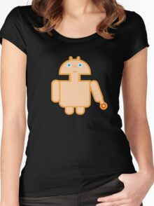 DROID PHONE HOME Women's Fitted Scoop T-Shirt