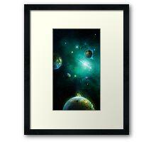 Fringe Universe Framed Print