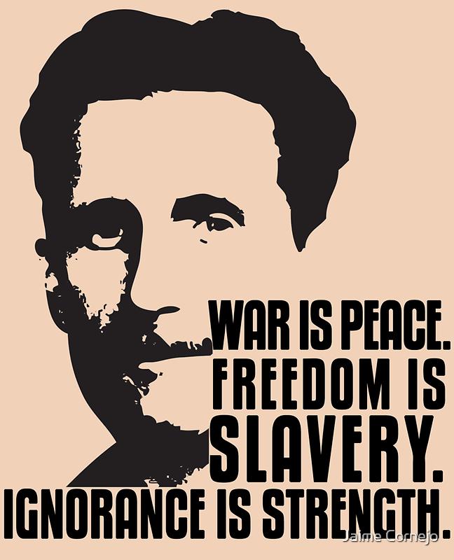 George Orwell 1984 by Yago