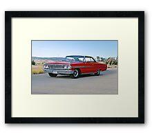 1964 Ford Galaxie 500XL Framed Print