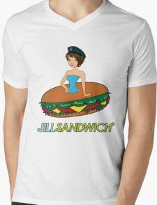 Jill sandwich Mens V-Neck T-Shirt