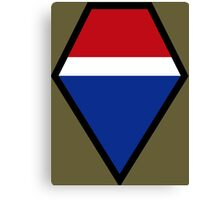 Twelfth United States Army Group - Historical Canvas Print