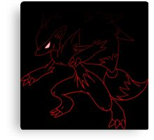 pokemon zoroark anime manga shirt Canvas Print