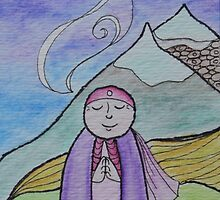 Mountain Mizuko Jizo by amymac