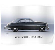 1950 Packard Four Door Sedan Poster