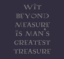 Wit Beyond Measure Unisex T-Shirt