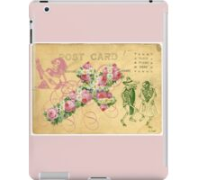 Rose Cross Skeleton Day Of The Dead iPad Case/Skin