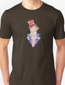 Willy Wonka And The Chocolate Factory Inspired Typography T-Shirt