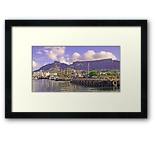 Cape Town waterfront! Framed Print