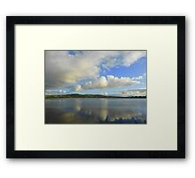 Clouds.............................Most Products Framed Print