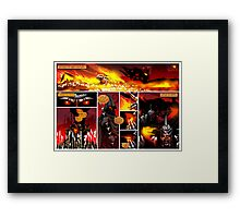 PART FOUR - The Black King Sees no Challenge | The Leapers Attack Framed Print
