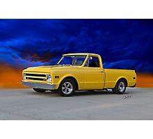 1968 GMC 'Custom' Pickup Photographic Print