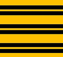 Hufflepuff Stripes - Thick by Serdd