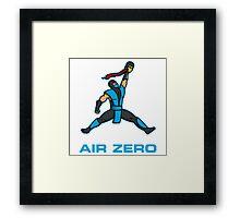 Air Zero Framed Print