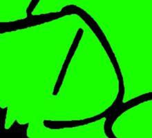 Neon Green IDS Logo - Sticker Sticker