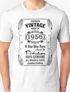 Premium Vintage Made In 1956 T-Shirt