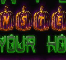 Halloween Security Sticker