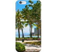 Waikiki Beach, Honolulu Oahu - HAWAII iPhone Case/Skin