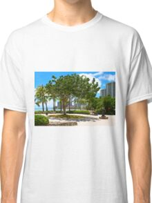 Waikiki Beach, Honolulu Oahu - HAWAII Classic T-Shirt