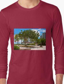 Waikiki Beach, Honolulu Oahu - HAWAII Long Sleeve T-Shirt