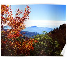 AUTUMN,BLUE RIDGE MOUNTAINS Poster