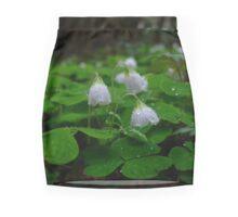 Rain drops Mini Skirt
