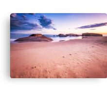 Beach Surnise Canvas Print