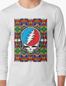 Grateful Dead Trippy Pattern Long Sleeve T-Shirt