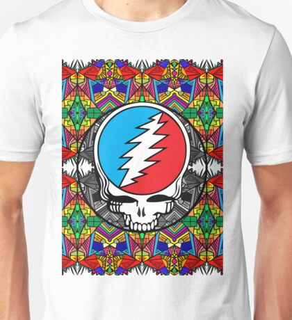 Grateful Dead Trippy Pattern Unisex T-Shirt