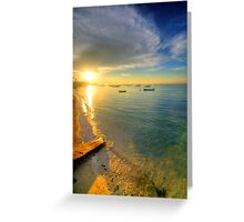 Some Days Stay Gold Forever Greeting Card