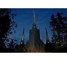 Portland Oregon LDS Temple 2 Photographic Print