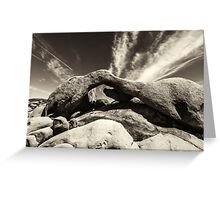 ARCH MONOCHROME Greeting Card