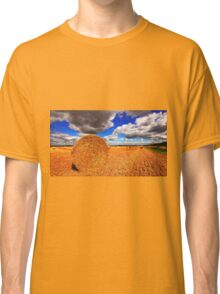 Golden Harvest......Straw Bales Classic T-Shirt