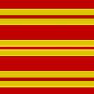 Gryffindor Stripes - Thick by Serdd