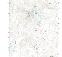 USGS Topo Map Oregon Broken Top 20110811 TM by wetdryvac