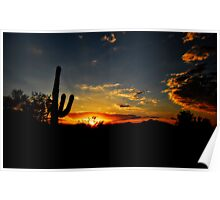 An Arizona Sunrise  Poster