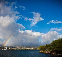 Pearl City Rainbow by EmotiveImagery