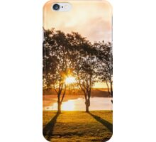 Silhouette Sunset iPhone Case/Skin