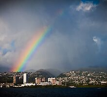 Pearl City Rainbow - Take Two by EmotiveImagery