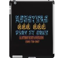 Halloween Security Bats iPad Case/Skin