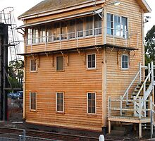 Signal Box by Dave Callaway