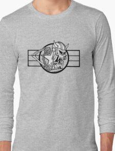 Mutant Skater Meatball Long Sleeve T-Shirt